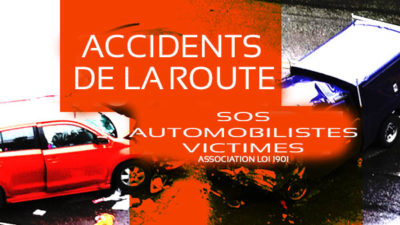 victime accident de la route